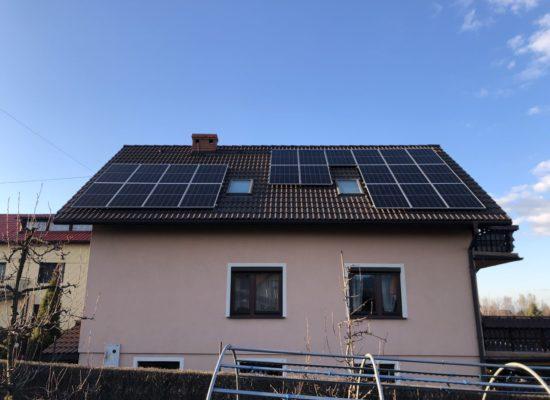 Montaż instalacji fotowoltaicznej 7,5 kW - Czaniec