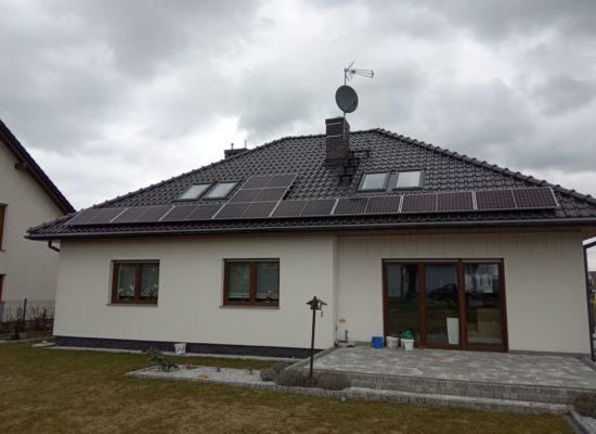 Montaż instalacji fotowoltaicznej 3,4 kW - Gliwice