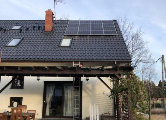 Montaż instalacji fotowoltaicznej 5,4 kW - Pszczyna