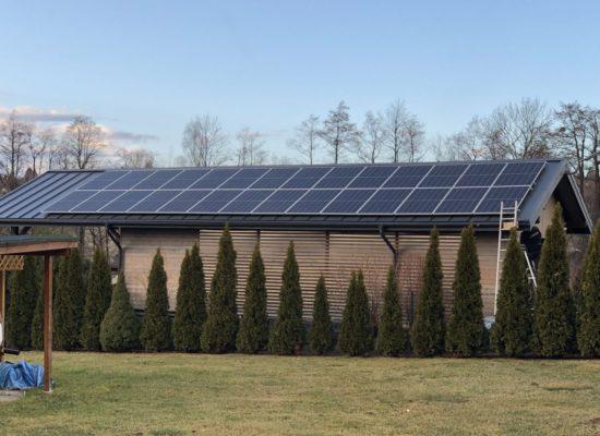 Montaż instalacji fotowoltaicznej 9,5 kW - Górki Wielkie