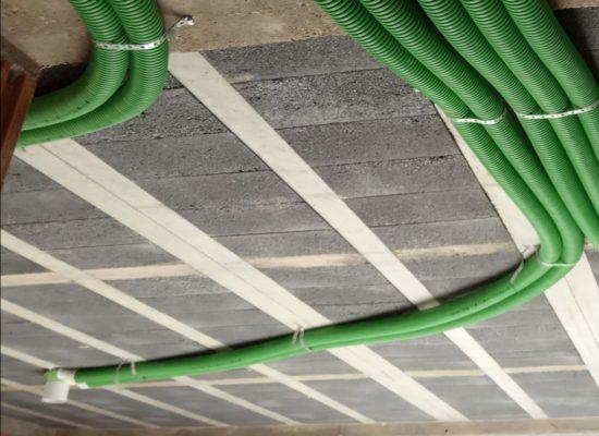 Montaż instalacji wentylacji w domu 160 m2 - Oświęcim