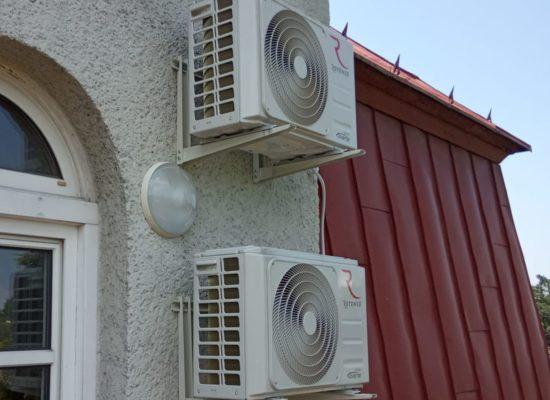 Montaż klimatyzacji w firmie informatycznej - Bielsko-Biała