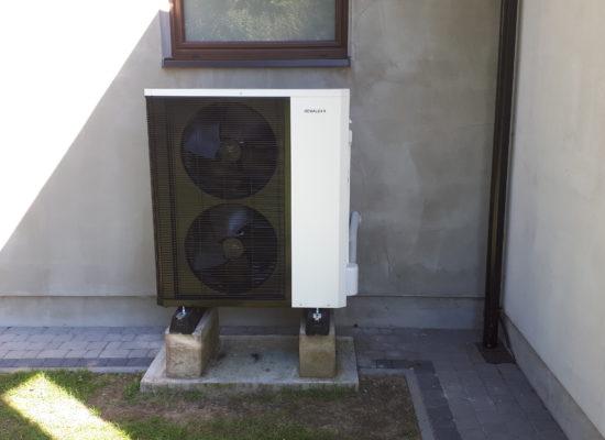 Montaż pompy ciepła 13 kW - Jastrzębie-Zdrój
